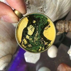 handmade acrylic pendant